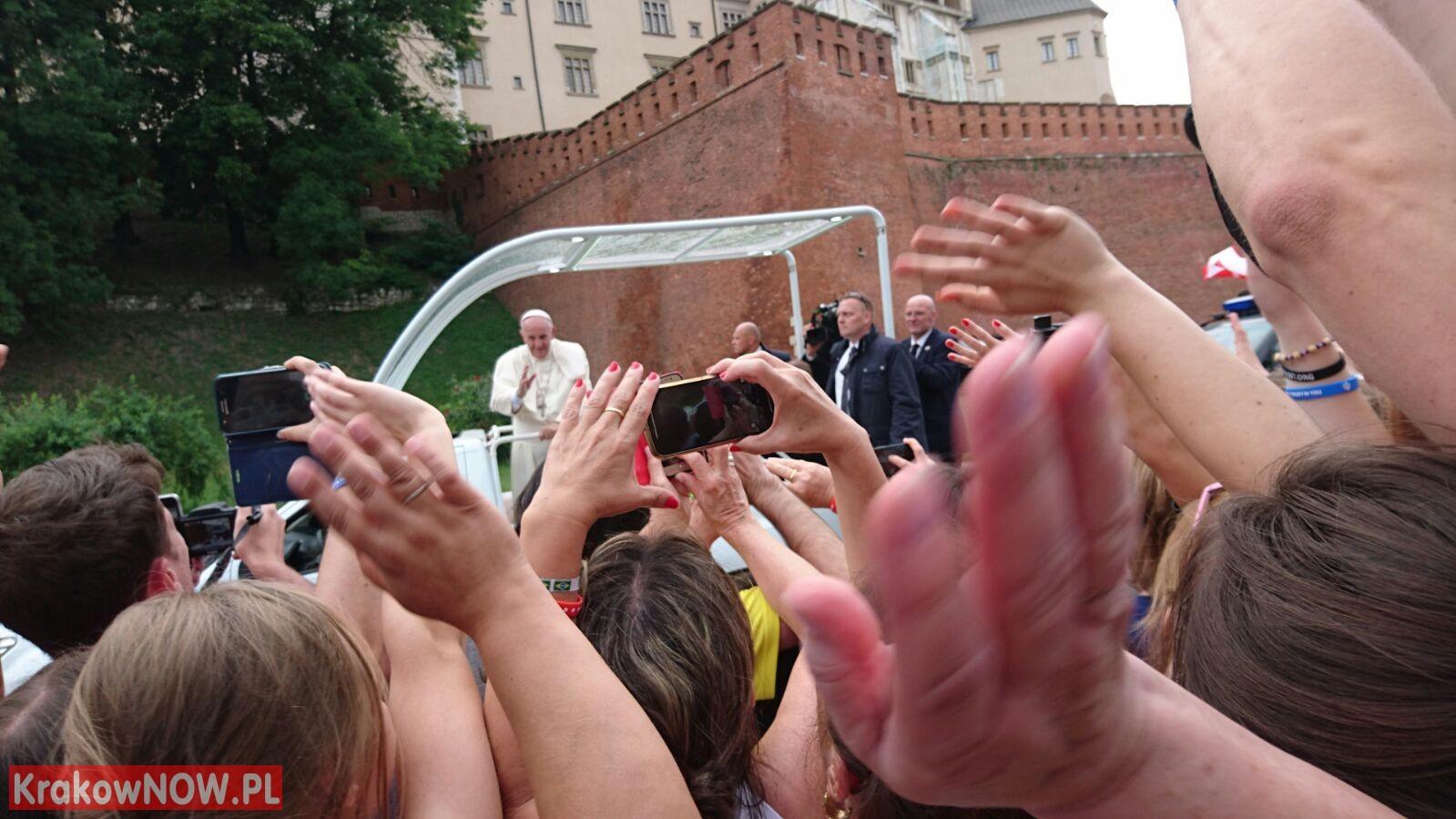 papiez w Krakowie - Papież w Krakowie na Światowych Dniach Młodzieży