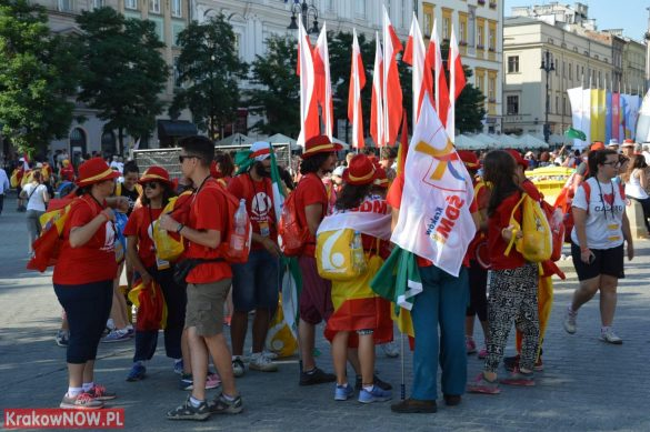 sdm friday krakow2016 swiatowe dni mlodziezy 13 585x389 - Galeria zdjęć (Piątek) Światowe Dni Młodzieży w Krakowie