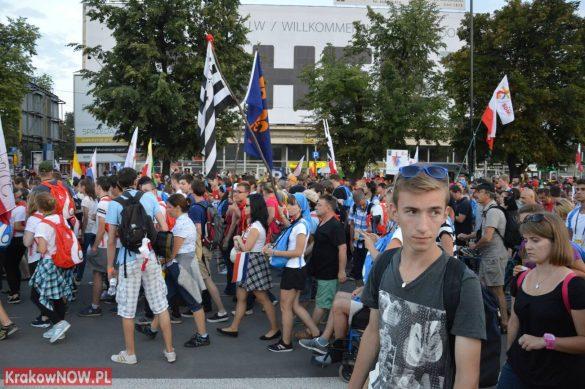 sdm friday krakow2016 swiatowe dni mlodziezy 136 585x389 - Galeria zdjęć (Piątek) Światowe Dni Młodzieży w Krakowie