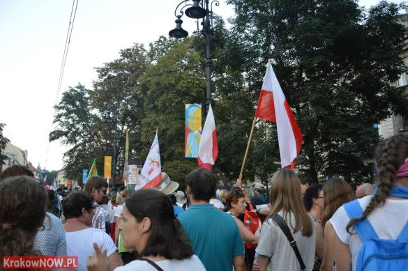 sdm friday krakow2016 swiatowe dni mlodziezy 146 585x389 - Galeria zdjęć (Piątek) Światowe Dni Młodzieży w Krakowie