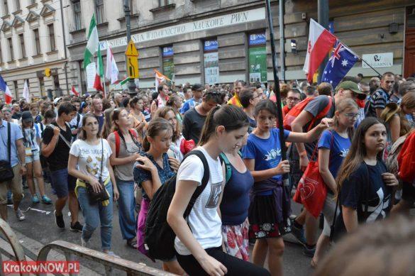 sdm friday krakow2016 swiatowe dni mlodziezy 163 585x389 - Galeria zdjęć (Piątek) Światowe Dni Młodzieży w Krakowie