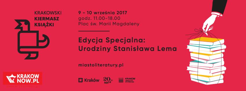 krakowski kiermasz ksiazki - Wrześniowy Kiermasz Książki pod znakiem Stanisława Lema