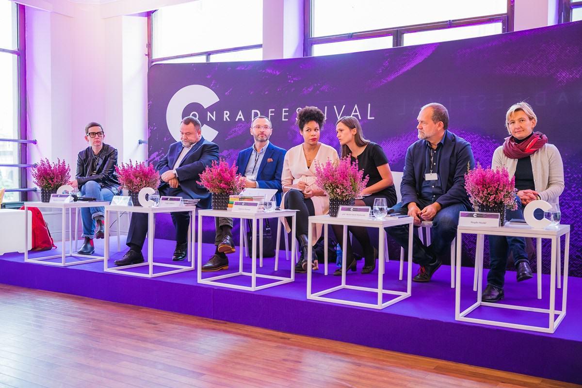 Konferencja prasowa fot. Wojciech Wandzel www.wandzelphoto.com  - Witajcie w krainie niepokoju
