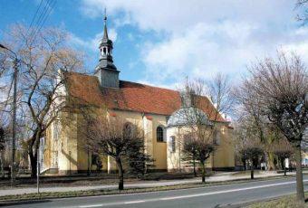 Zdjęcie Kościół św. Krzyża w Szamotułach, www.szamotuly.pl