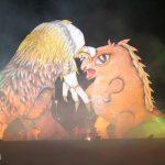 parada smokow pokaz na wisle krakow 2018 26 150x150 - Wielkie Plenerowe Widowisko na Wiśle - Smoki z Dziennika Marco Polo - galeria zdjęć