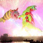parada smokow pokaz na wisle krakow 2018 83 150x150 - Wielkie Plenerowe Widowisko na Wiśle - Smoki z Dziennika Marco Polo - galeria zdjęć
