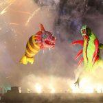 parada smokow pokaz na wisle krakow 2018 89 150x150 - Wielkie Plenerowe Widowisko na Wiśle - Smoki z Dziennika Marco Polo - galeria zdjęć