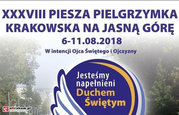 38 Piesza Pielgrzymka Krakowska na Jasną Górę – zaproszenie