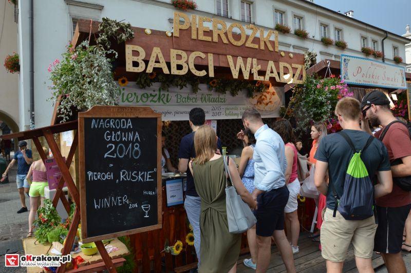 16 festiwal pierogow krakow maly rynek niedziela 2018 - XVI Festiwal Pierogów (niedziela) Kraków 2018 - galeria zdjęć