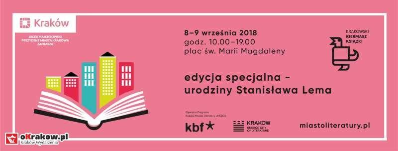 krakowski kiermasz ksiazki krakow2018 - Krakowski Kiermasz Książki – Lem atakuje!