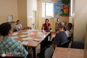 Literatura w więzieniu - warszaty w areszcie. fot. Natalia Gancarz