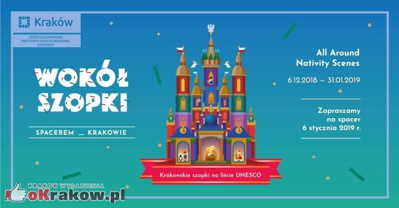 wokol szopki krakow - Wokół Szopki – spacerem po Krakowie