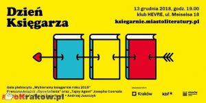dzien ksiegarza krakow 2018 300x150 - Ogłaszamy księgarnie roku! Kraków 2018