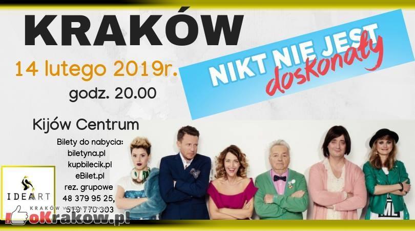 """Komedia romantyczna """"Nikt nie jest doskonały"""" w Krakowskim Kinie Kijów"""