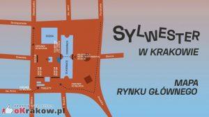 Mapka - Sylwester w Krakowie
