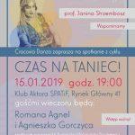 2019 01 strzembosz 150x150 - Spotkanie z cyklu CZAS NA TANIEC! z Romaną Agnel i Agnieszką Gorczycą