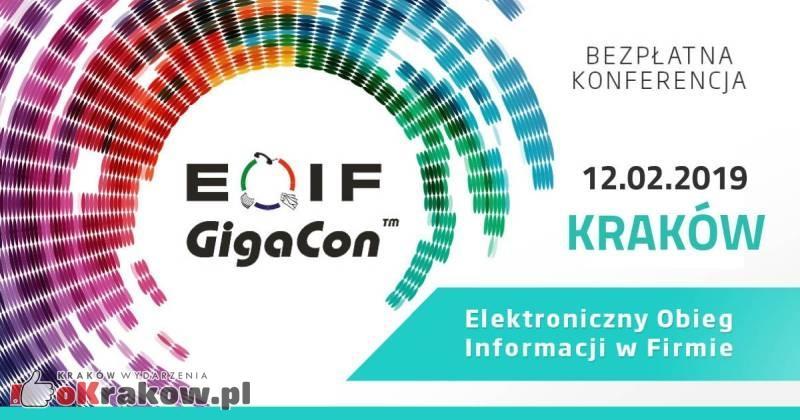 Bezpłatna konferencja EOIF – Elektroniczny Obieg Informacji w Firmie 12.02.2019 | Hotel Holiday Inn, Kraków