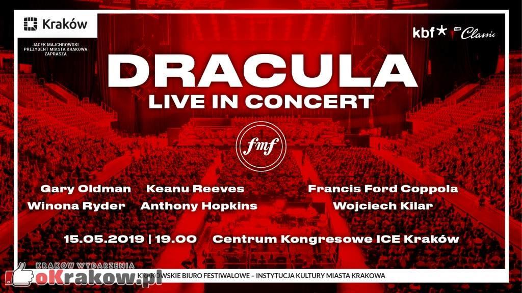 festiwal muzyki filmowej krakow  dracula grafika - 12. FMF: Dracula Live in Concert  Pokaz superprodukcji Francisa Forda Coppoli  z muzyką Wojciecha Kilara w Centrum Kongresowym ICE Kraków