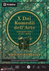 xdkda 209x300 - Jubileuszowa edycja Dni Komedii dell'Arte w Krakowie !