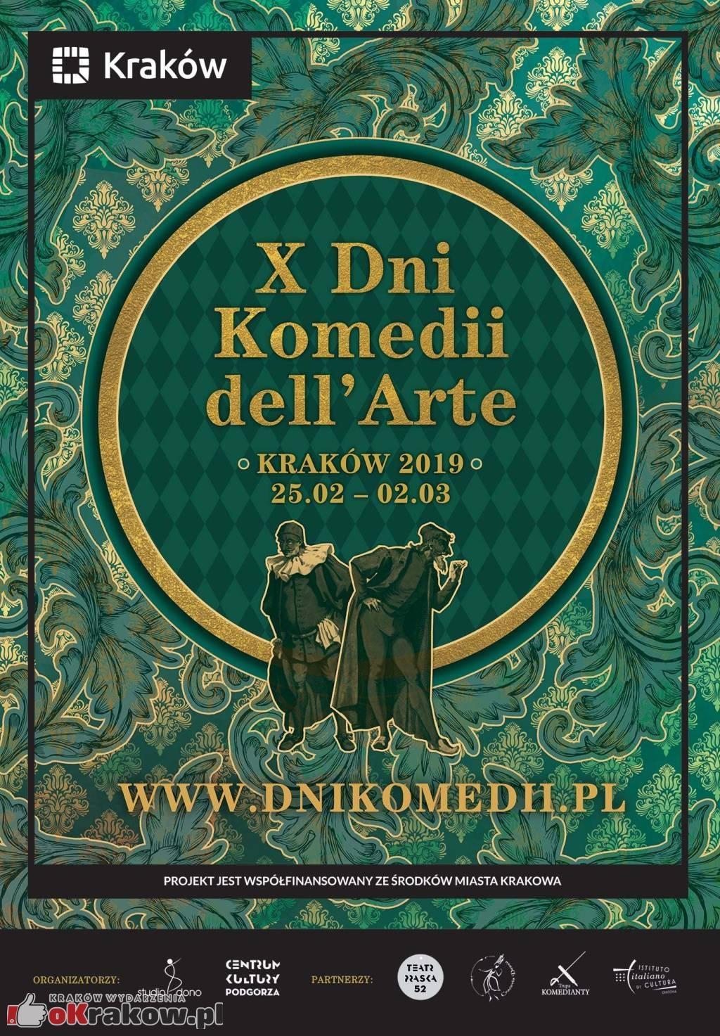 Jubileuszowa edycja Dni Komedii dell'Arte w Krakowie !