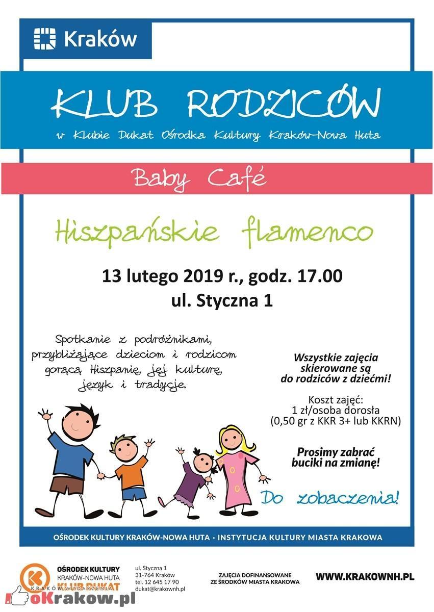 dukat baby cafe hiszpanskie flamenco 213x300 - Zapowiedzi wydarzeń w Ośrodku Kultury Kraków-Nowa Huta