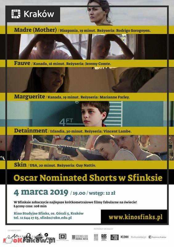 oscar nominated shorts - Oscar Nominated Shorts w Krakowskim Sfinksie