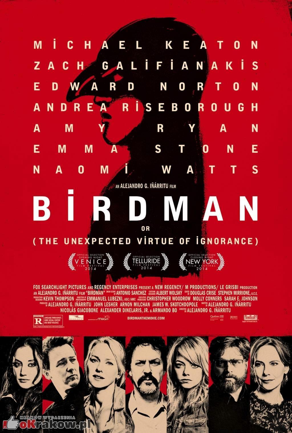 plakat birdman 203x300 - Birdman: Live in Concert - Antonio Sánchez gościem specjalnym 12. FMF Kraków