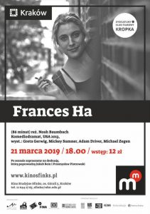 "dkf frances ha 211x300 - DKF ""Kropka"": Frances Ha - Kino Sfinks Zaprasza"
