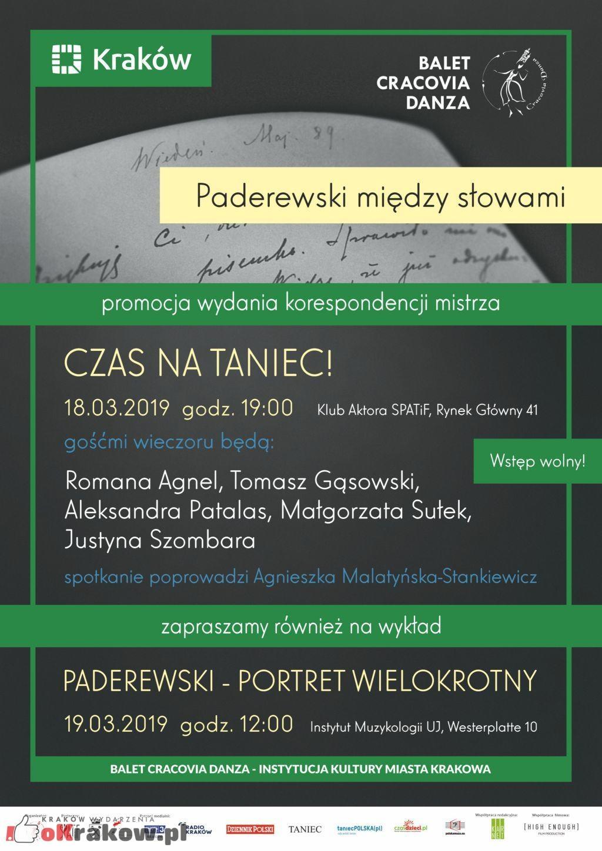 Paderewski między słowami – Promocja wydania korespondencji mistrza