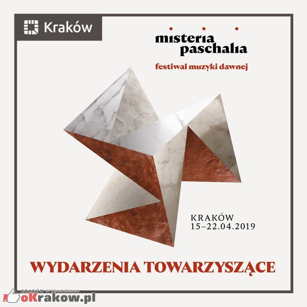 wydarzenia towarzyszace grafika - 16. Krakowski Festiwal Misteria Paschalia - wydarzenia towarzyszące