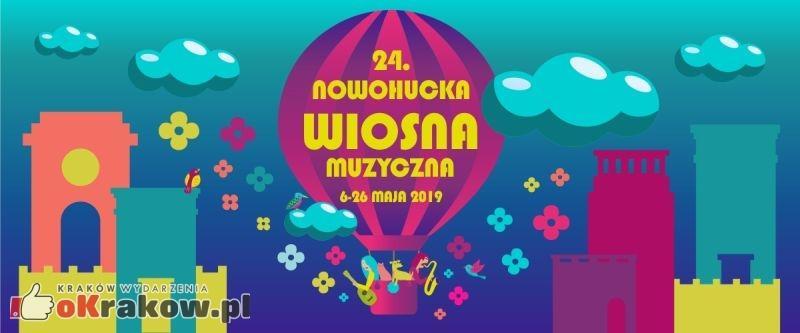 24. Nowohucka Wiosna Muzyczna 6-26 maja 2019 r.