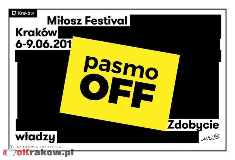 Nie ma prawdziwej rewolucji bez tańca – pasmo OFF na Festiwalu Miłosza w Krakowie