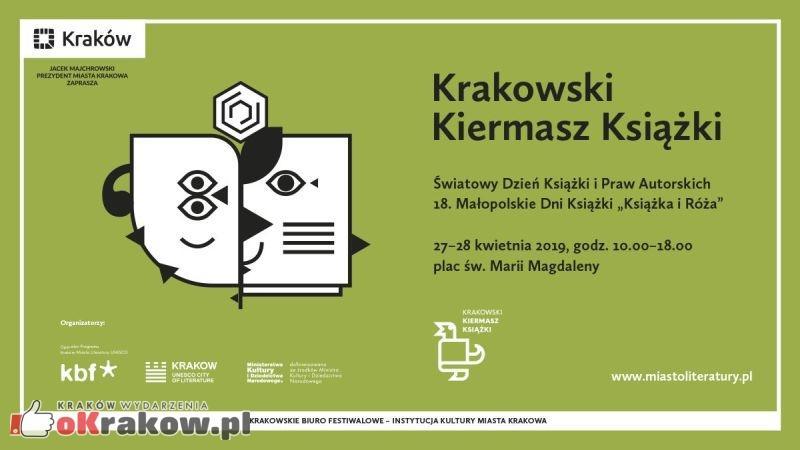 krakowski kiermasz ksiazki krakow 2019 - Literacka wiosna w Krakowie