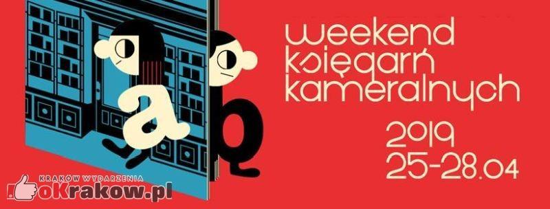 Weekend Księgarń Kameralnych – ogłaszamy program dla Krakowa!