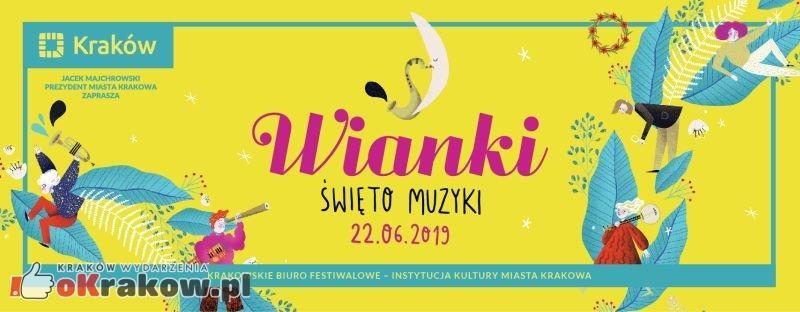wianki 2019 - Krakowskie Wianki czyli Święto muzyki w Krakowie 22 czerwca 2019!
