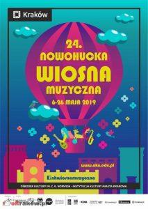 wiosna muzyczna 2019 213x300 - 24. Nowohucka Wiosna Muzyczna 6-26 maja 2019 r.