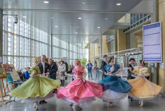 Cracovia Danza Balet w mieście 2019 Biblioteka Jagiellońska fot. Ilja van de Pavert