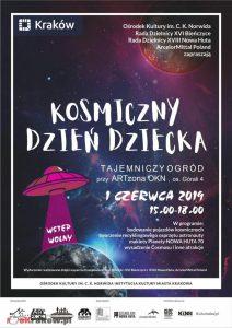 dzien dziecka krakow 2019 212x300 - Kosmiczny Dzień Dziecka w  ARTzonie