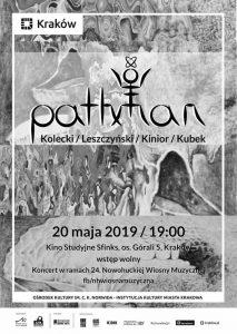 wiosna muzyczna 2019 pathman1 213x300 - PATHMAN / Koncert w ramach 24. Nowohuckiej Wiosny Muzycznej