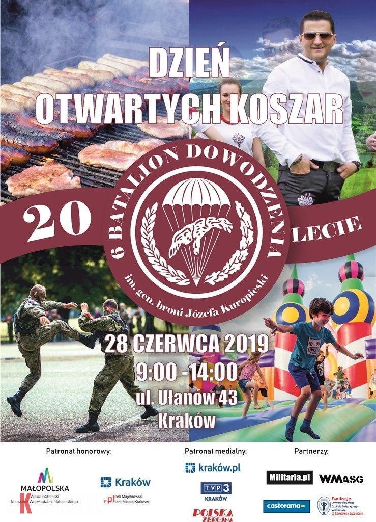 Piątek 28 czerwca odbędą się uroczyste obchody Jubileuszu XX-lecia 6 batalionu dowodzenia 6 Brygady Powietrznodesantowej