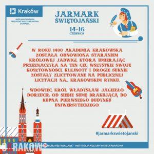 jarmark swietojanski ciekawostki krakow 300x300 - Jarmark Świętojański startuje już w piątek 14 czerwca