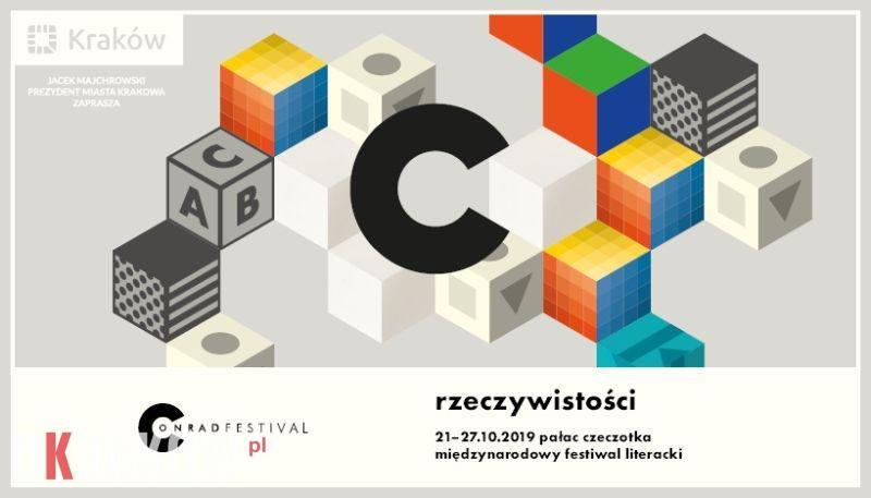 Literatura i rzeczywistości. Przedstawiamy program Festiwalu Conrada 2019!