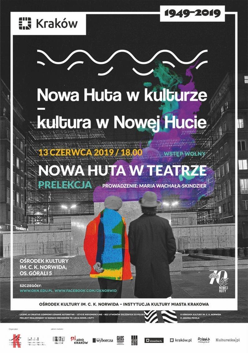 Nowa Huta w teatrze – prelekcja // Nowa Huta w kulturze – kultura w Nowej Hucie
