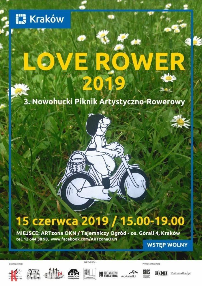 LOVE ROWER 2019 – Święto Rowerowe w Nowej Hucie