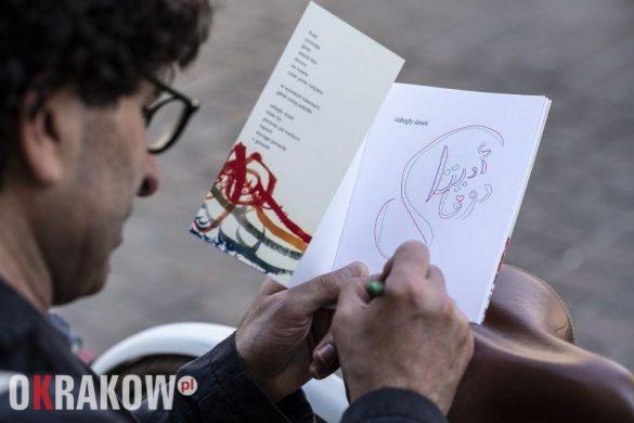 saleh diab fot.edyta dufak dla kbf 585x390 - Krakowski Festiwal Miłosza już za nami. Jak wyglądała jego ósma edycja?