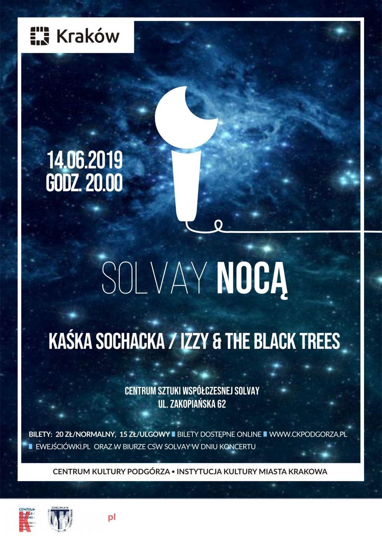 Izzy and the Black Trees / Kaśka Sochacka / Solvay / Kraków / 14 czerwca – zapraszamy