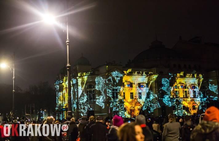 Serdecznie zapraszamy na wielki mapping na budynku Teatru im. J. Słowackiego w Krakowie