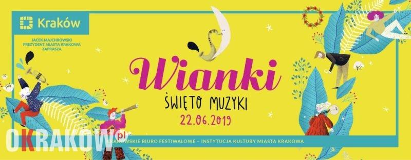 wianki krakow 2019 - Kraków tętniący muzyką. Wianki – Święto Muzyki już w najbliższą sobotę