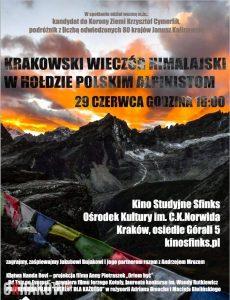 wieczor himalajski 230x300 - Everest dla każdego. Krakowski wieczór himalajski w hołdzie polskim alpinistom
