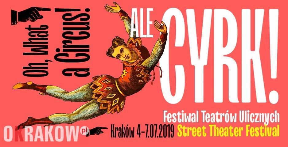 Od czwartku w Krakowie rusza 32. ULICA – Festiwal Teatrów Ulicznych